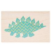Stegosaurus Rubber Stamp