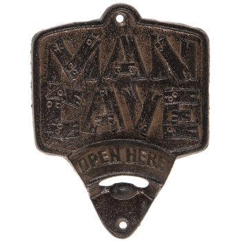 Man Cave Metal Bottle Opener