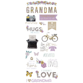 Grandmother Foil Stickers