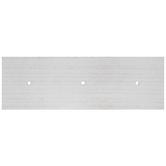 White Rectangle Wood Wall Hook Base
