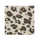 Brown & Black Leopard Print Napkins