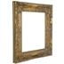 Antique Gold Wood Open Frame - 11