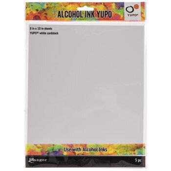 "Tim Holtz Alcohol Ink Yupo Paper- 8"" x 10"""