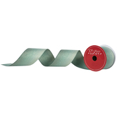 """Metallic Gold & Green Ombre Wired Edge Ribbon - 2 1/2"""""""