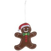 Gingerbread Ornament Felt Craft Kit
