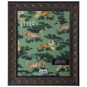 Black & Gold Scroll Wall Frame