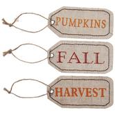 Fall, Pumpkin & Harvest Tags