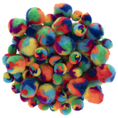 Multi-Color Pom Poms