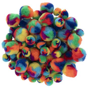 Multi-Color Pom Poms