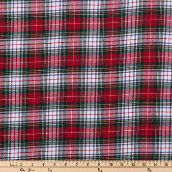 Plaid Flannel Fabric