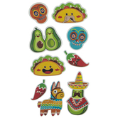 Fiesta 3D Stickers