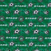 NHL Dallas Stars Allover Cotton Fabric