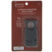 Sliding Magnifier With Light