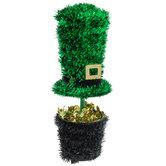 Tinsel Leprechaun Hat On Pot Of Gold