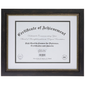 "Two Tone Document Frame - 11"" x 8 1/2"""