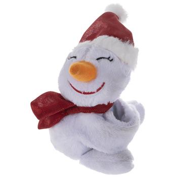 Best Stuffed Animals For Boy, Plush Snowman Wrist Hugger Bracelet Hobby Lobby 105409776