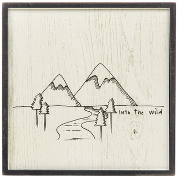 Into The Wild Wood Wall Decor