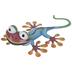 Blue Metal Gecko