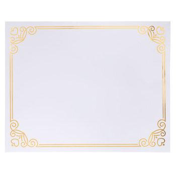 """Gold Foil Frame Poster Board - 22"""" x 28"""""""