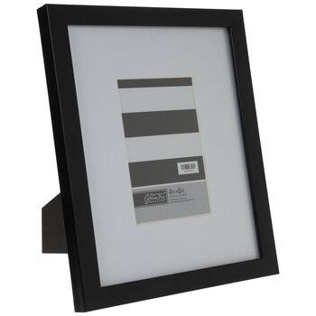 Black Flat Frame