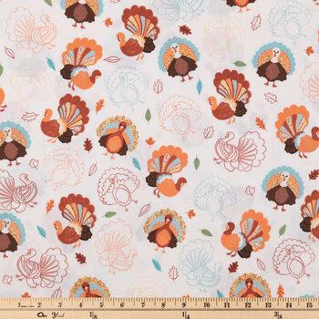 Turkeys Cotton Fabric
