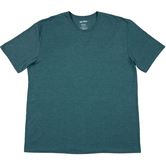 Heather Dark Green Adult Tri-Blend Crew T-Shirt - 2XL