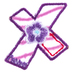 Letter Patch - X