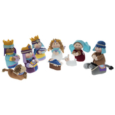Plush Nativity Set