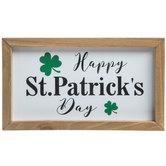 Happy St. Patrick's Day Wood Decor