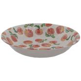 Watercolor Peaches Serving Bowl