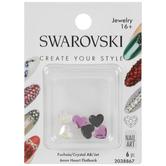 Swarovski Nail Art Heart Flatback Crystals