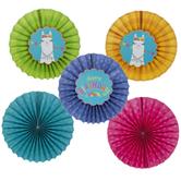 Llama Paper Fans