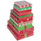 Assorted Christmas Gift Boxes