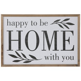 Home With You Wood Wall Decor