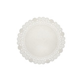 White Grease Proof Doilies - 4""