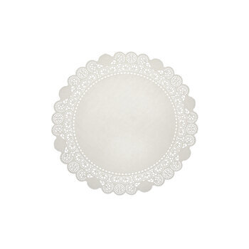 """White Grease Proof Doilies - 4"""""""