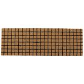 Brown & Black Squares Rug