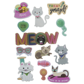 Cool Cat 3D Stickers