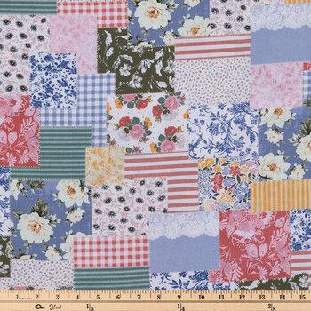 Boho Patch Apparel Fabric