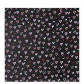 "Outlined Hearts Scrapbook Paper - 12"" x 12"""