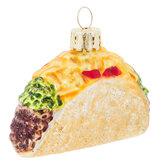 Taco Glitter Ornament