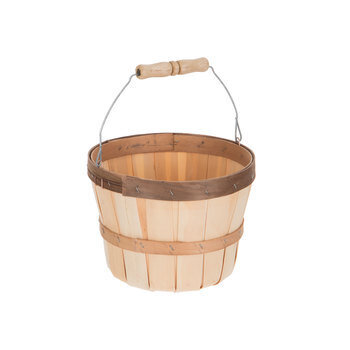 Natural Bushel Basket