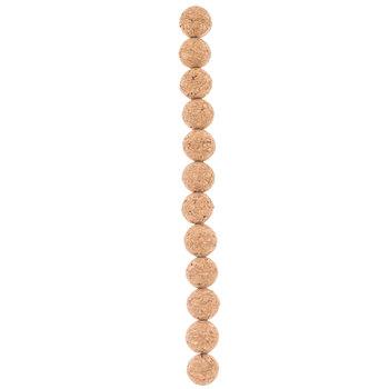 Round Cork Bead Strand - 15mm