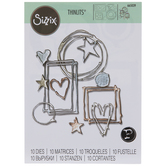 Sizzix Thinlits Mixed Media Shapes Dies