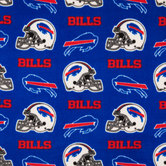 NFL Buffalo Bills Fleece Fabric