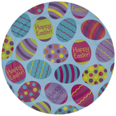 Patterned Easter Eggs Plate