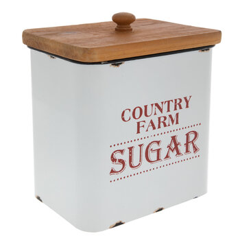 Country Farm Sugar Canister
