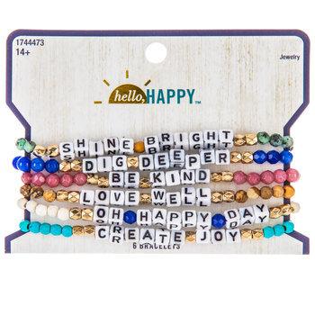Shine Bright Bead Bracelets