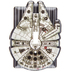Millennium Falcon Metal Single Switch Plate