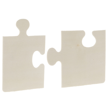 Puzzle Piece Wood Shapes
